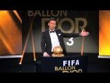 Crackòvia: Cristiano Ronaldo Gana el Balón de Oro 2013. FIFA BALLON DOR 2013.