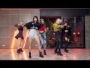 Rose Quartz 로즈쿼츠 Ra Pa Pam Pam Thai Ver Dance Practice Moving Version