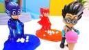 La trampa de slime PJ Masks juguetes Héroes en pijamas