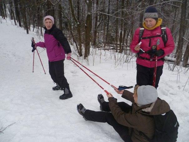 В субботу 4января-выездная тренировка в Шуваловском парке.