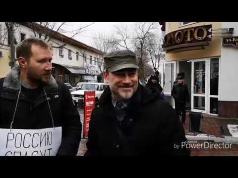 Нодовцы и гражданинСоветского Союза. Астрахань