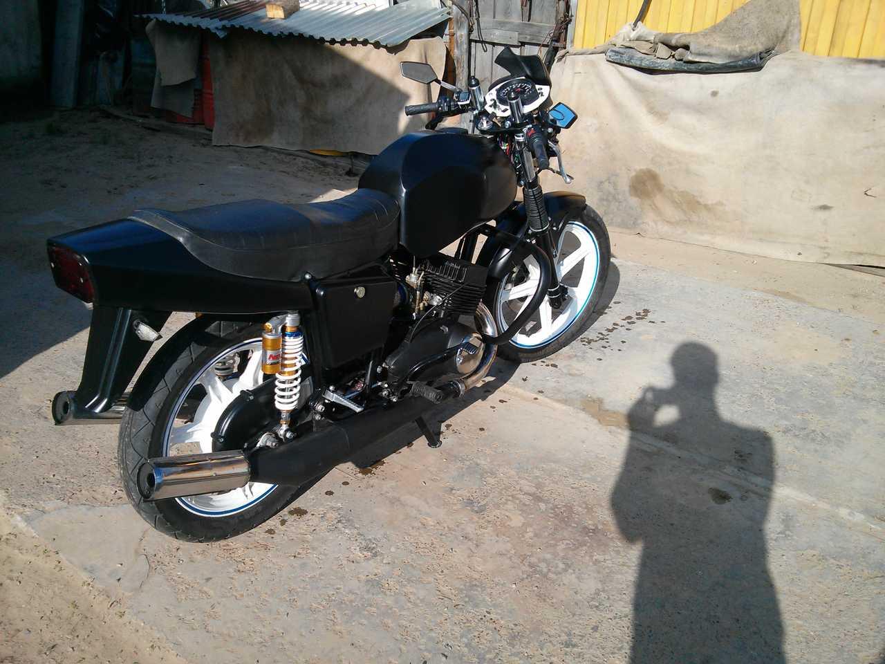 Тюнинг мотоцикл своими руками юпитер 5 фото