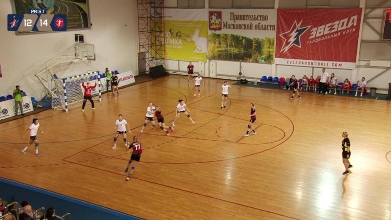 Гол Виктории Климанцевой в матче «Звезда» - «Астраханочка»