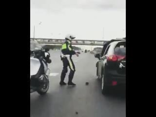 Пьяная женщина устроила форсаж в Москве