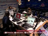 Александр Кушнир на радио Маяк