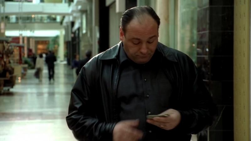 Клан Сопрано S04E08 11 Тони начал копать под Ральфа чтобы узнать его постельные грешки и после начал жарить Валентину