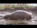 Audi A4(1.8T quattro) на бездорожье (отрывок из теста)