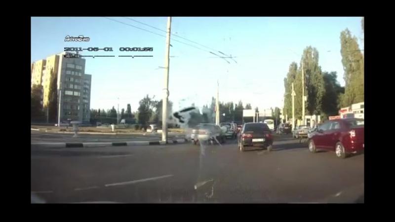 Живой труп на велосипеде в Воронеже