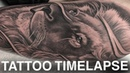 TATTOO TIME LAPSE LION PORTRAIT CHRISSY LEE