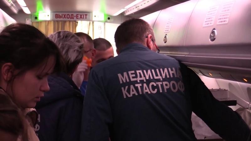Спецборт МЧС доставил из Калининграда в Нижний Новгород тяжелобольную девочку