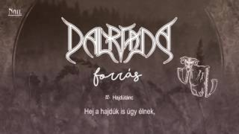 Dalriada - Hajdútánc / akusztikus (Hivatalos szöveges video / Official lyric video)