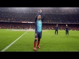 Camp Nou pays tribute to Xavi for his 700 matches
