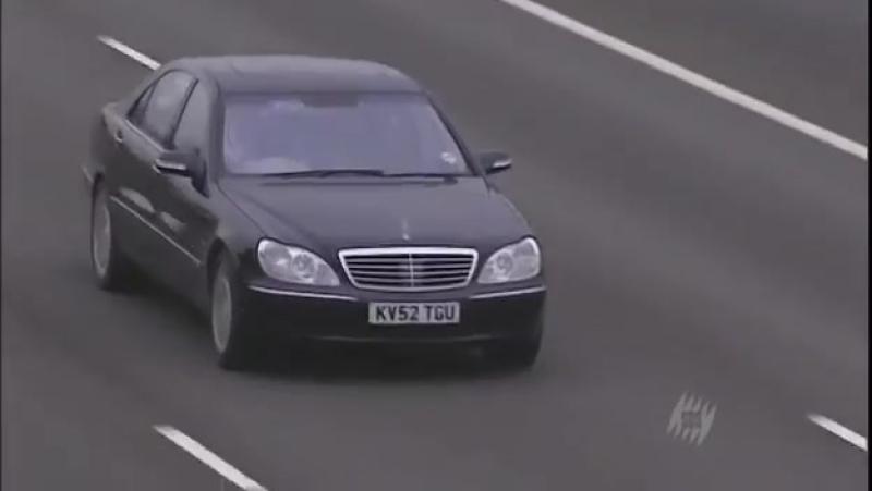 Mercedes Benz S class W220 S600, Top Gear, Топ Гир