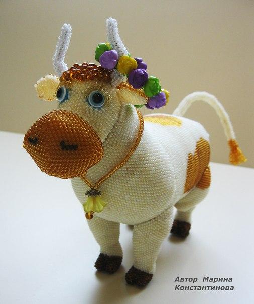 (9 фото) Корова Мурка 18 см