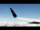 НЛО пролетает иллюминатора самолета на Гавайях