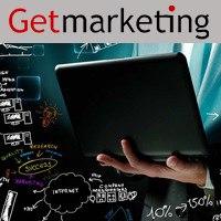 Логотип GetMarketing - обучение интернет-маркетингу