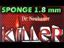 короткие шипы DR NEUBAUER Killer 1.8 mm - тактика игры слева, Глеб Яковлев