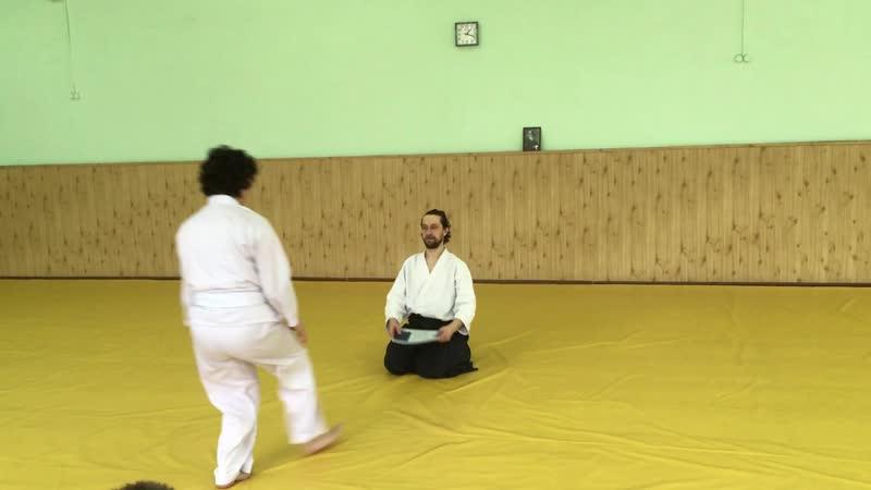 7 Вручение сертификатов на семинаре Бастракова В.В. | Айкидо | 合気道 | Aikido