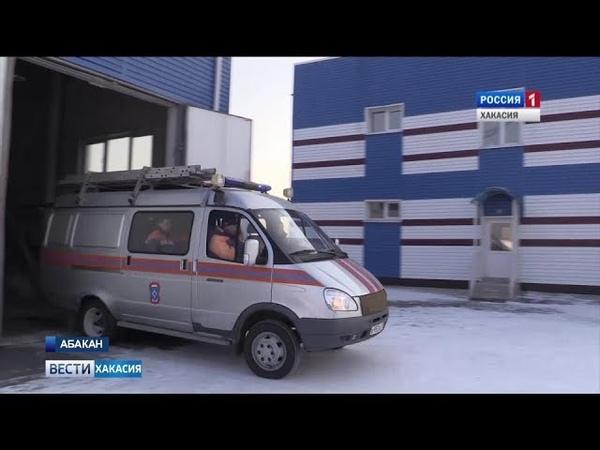 В Абакане избежать трагедии помогли спасатели. 16.01.2019