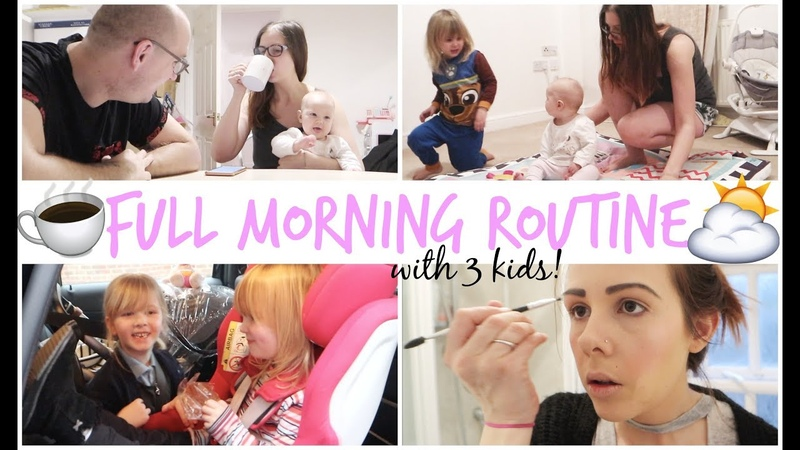 FULL MORNING ROUTINE OF A MUMMOM survival tips! | MONTESSORI MORNING ROUTINE | KERRY CONWAY