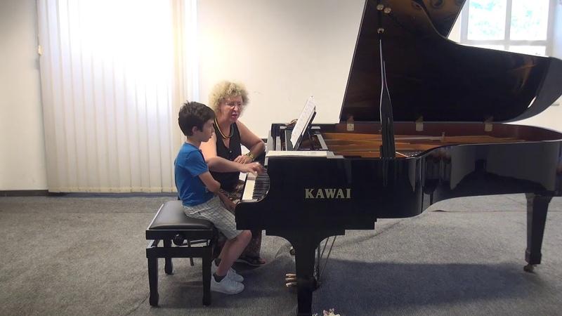 05.07.2018 Mira Marchenko's master-classes. Guido Ciarfuglia. Concert Hall, Trogir, Croatia
