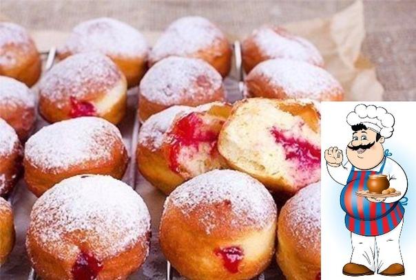 Пончики Фанки Пончики фанки (ударение на а) - наш традиционный рецепт. Готовлю я их не так давно. Почему Об этом дальше) Я не могла добиться идеального рецепта фанок. Мои родственницы пекут их