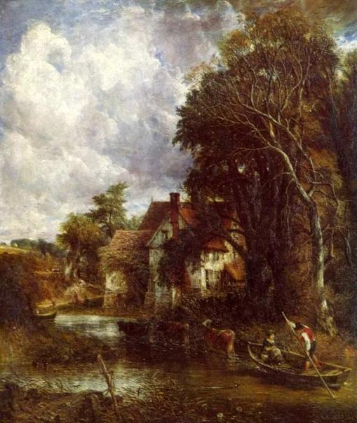 Джон Констебл (1776-1837 - английский художник пейзажист, представитель британского романтизма. Отец Джона был состоятельным человеком, занимался торговлей кукурузой, имел мельницы и собственный