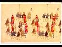 Парад делегации короля Рюкю на улицах Эдо в 1710 году