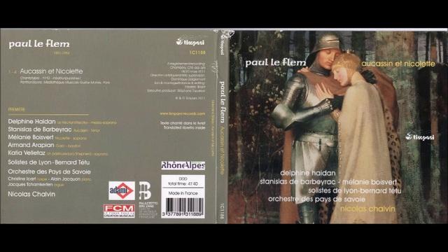 Pau Le Flem - Aucassin et Nicolette chantefable 1910