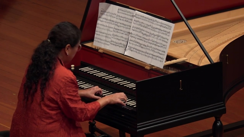 904 J. S. Bach - Fantasia in A Minor BWV 904 - Yuko Tanaka, harpsichord