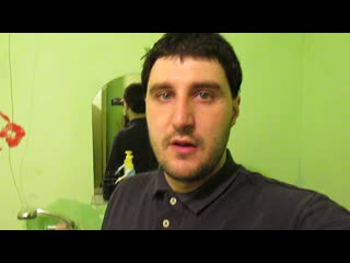 Эльдар Богунов убрался дома и постирал вещи!