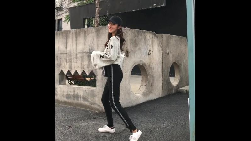 Fashion Casual Full Length Pants Side-Stripe Female Loose Elastic Waist Chic Pockets Women'S Pants New Bottoms 2018828