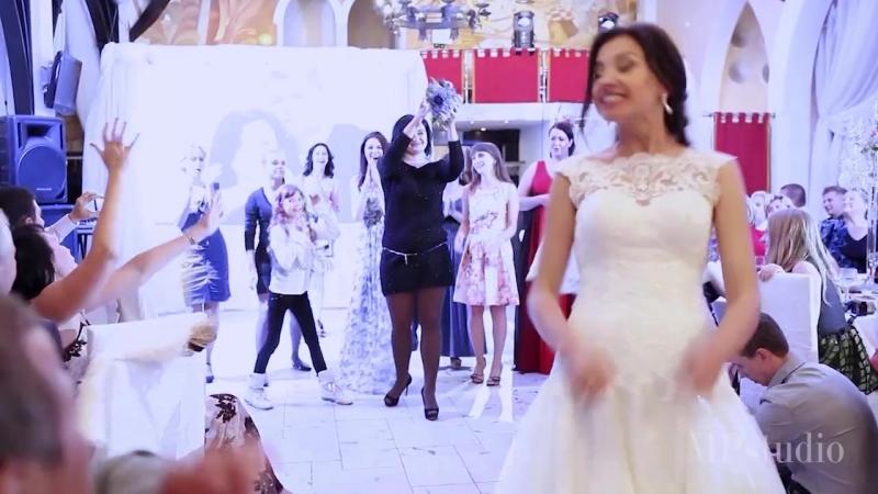 Профессиональная креативная свадебная видеосъемка в Москве Wedding clip