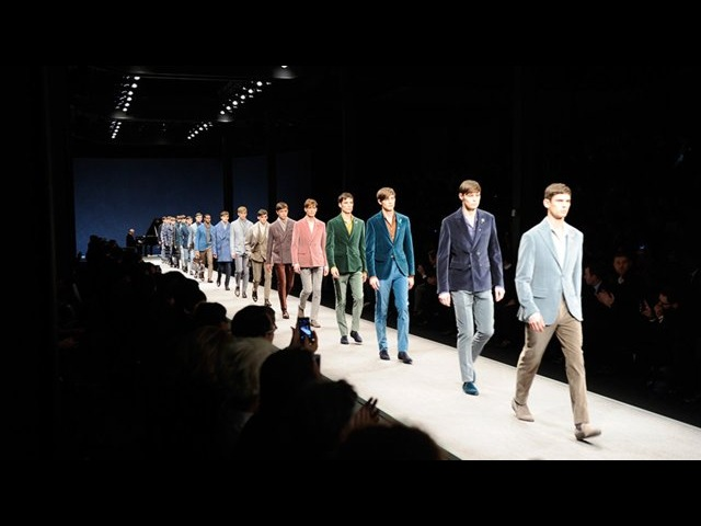 CANALI AUTUMN WINTER 2014 | The Runway Show