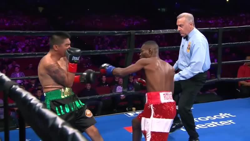 Гильермо Ригондо Даниэль Росас Guillermo Rigondeaux vs Giovanni Delgado 13 01 2019 KO