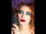 Макияж с пигментом Инглот №70/ Makeup Tutorial