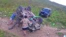 Нашли перевернутый УАЗ в горах на ФИШТЕ помогли парням