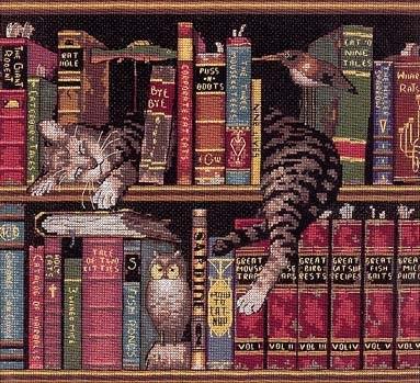 76 спящий кот на книгах.rar