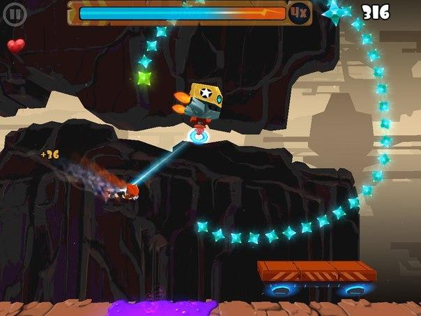 Скачать Rock Runners для android
