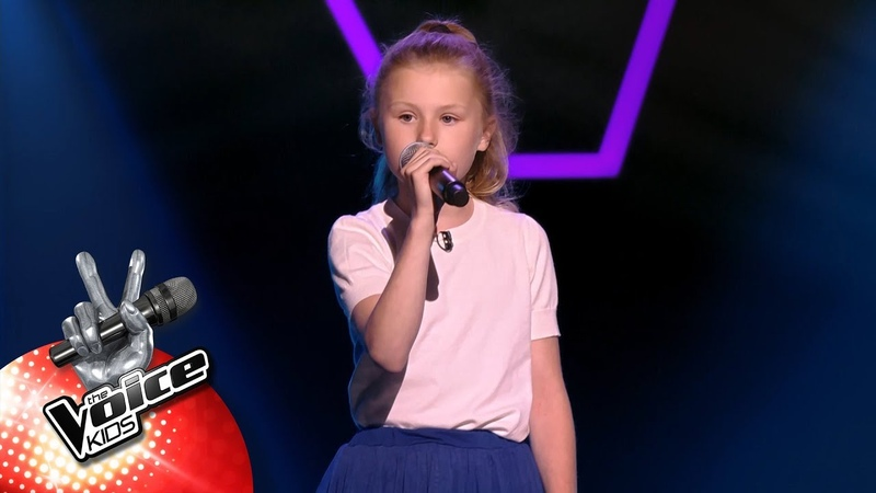 Josephine - Strong | Blind Auditions | The Voice Kids | VTM