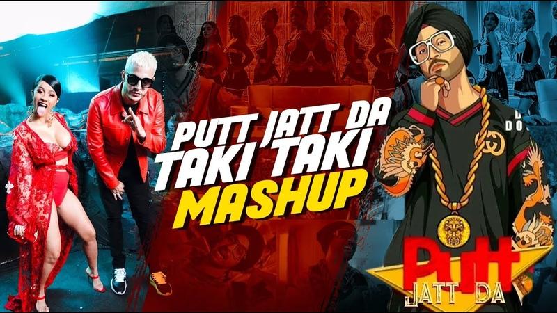 Putt Jatt Da x Taki Taki Mashup | DJ Sunny Singh UK | Sunix Thakor | Diljit Dosanjh