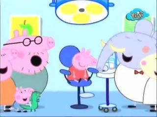 Свинка Пеппа - У зубного врача (развивающий мультик)
