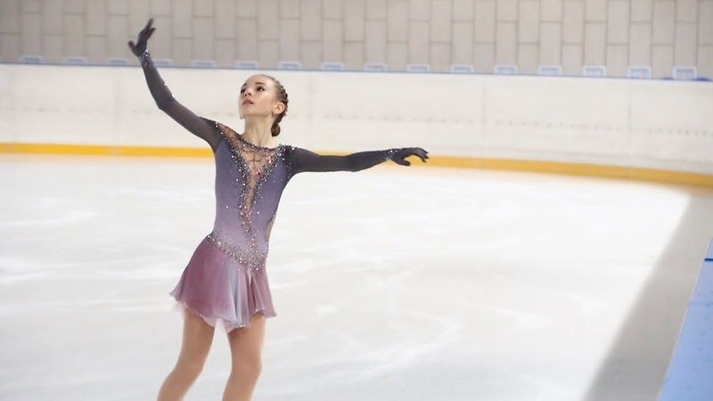 Дарья Усачёва, КП (Daria Usacheva, SP), старшие, Первенство Москвы младшего возраста 2019