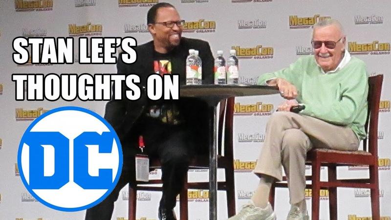 STAN LEES thoughts on DC COMICS | MegaCon 2016, Orlando FL