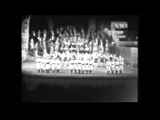 Dabketna.com - 1965 Baalbeck Lebanese Dabke dance by the Libano Armenian Folk Dance Ensemble