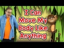 I Can Move My Body Like Anything   Movement Song for Kids   Jack Hartmann