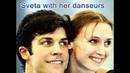 Glimpses of Sveta with her danseurs