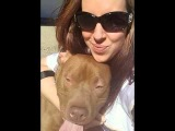 Rescued pit bull puppy named TatorTot saves 4-year-old owner's life by alerting mom that listless