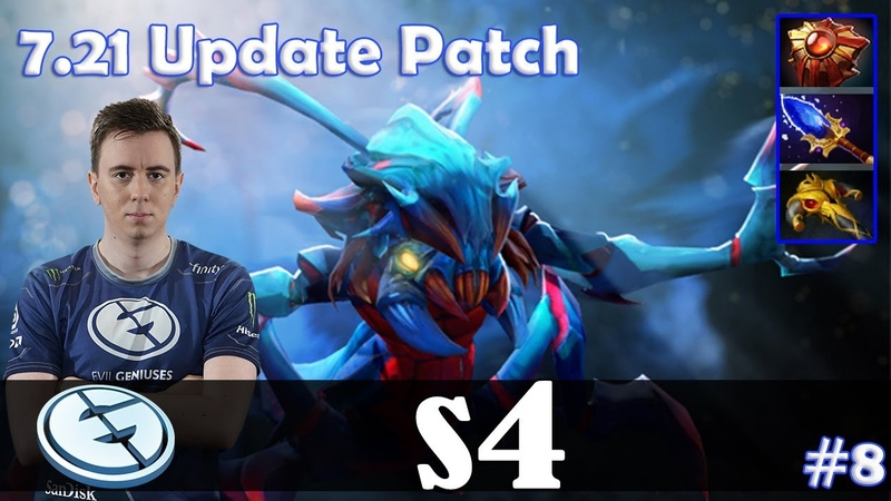 S4 - Weaver Offlane | 7.21 Update Patch | Dota 2 Pro MMR Gameplay 8