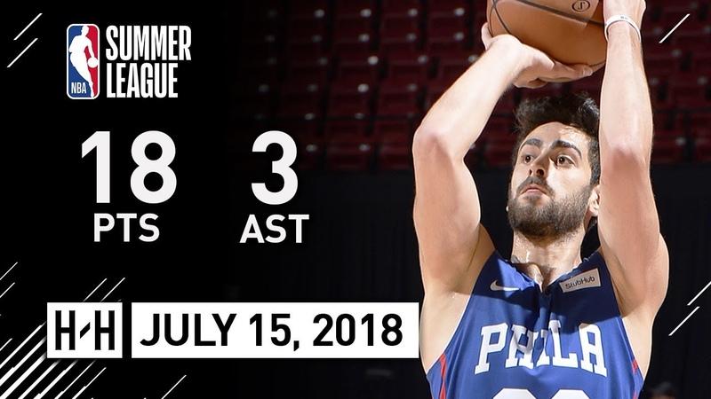 Furkan Korkmaz Full Highlights vs Grizzlies (2018.07.14) NBA Summer League - 18 Pts, 5 Reb, 3 Ast